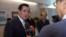台湾前总统马英九接受美国之音的采访