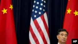 El vicepresidente chino, Wang Yang, durante la sesión de 2013 de Estrategia y Diálogo Económico.