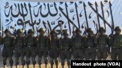 Оприлюднений Талібаном знімок нападників-смертників, які атакували військову базу в місті Мазарі-Шариф