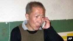 武漢民主人權活動人士秦永敏(資料照片)