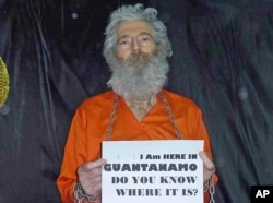 FILE - Undated handout photo shows retired FBI agent Robert Levinson. His family received photographs in April 2011.