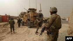 Sojojin taron dangin kasa da kasa da ke girke a kasar Afghanistan
