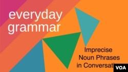 Imprecise Noun Phrases in Conversation