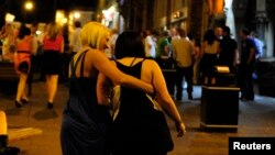 FILE - Two women are seen enjoying a night out. Alcohol and and substance abuse have been identified as contributors to an increased mortality rate among white women in the United States.