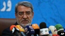 압돌레자 라흐마니 파즐리 이란 내무장관.