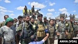 د سوریې د حکومت مخالفینو هم د داعش خلاف عملیات پیل کړي