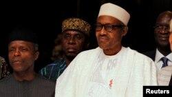 Nigeria's President Muhammadu Buhari