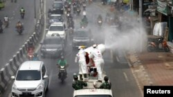 Xebatên paqijkirinê li JAkarta ya paytexya Endonezya