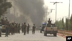 وقوع انفجارات در جنوب افغانستان