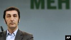 Alman Yeşiller Partisi Eşbaşkanı Cem Özdemir