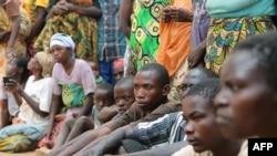 Wakimbizi wa Burundi, April 10, 2015.