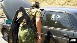 Dağıstanda rus hərbçilərə hücum edilib