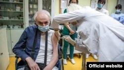 Vakcinacija u Risnu, u Crnoj Gori ( Foto: PR Centar, rtcg.me)