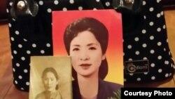 북한은 지난 5월 재미한인 박문재 박사의 누나 박경재 씨의 유골 반출을 이례적으로 허용했다. 사진은 박경재 씨의 유골골함과 젊은 시절 사진.