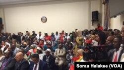 Dhugaa bahumsii dhimma Oromoo irratti Galma Walgahii Kongireesii Amerikaatti kenname.