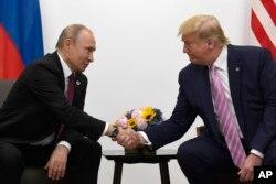 Vladimir Putin və Donald Tramp