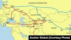 中國宣傳的新絲綢之路