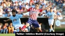 Atlético Madrid a essuyé face une première défaite surprise en Championnat d'Espagne au Celta Vigo (2-0) pour la 3e journée, au stade Balaidos, Espagne, 1er septembre 2018. (Twitter/ Atlético Madrid)
