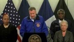 Nueva York azotado por tormenta invernal