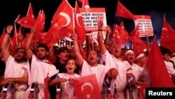 حکومت ترکیه به سرکوب کودتاچیان تعهد کرده است