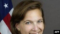 Пресс-секретарь Госдепартамента США Виктория Нуланд
