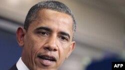 Predsednik Obama razmotrio je tok pregovora o budžetu na brifingu u Beloj kući, 19. jula 2011.