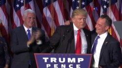 Trump revela primeros miembros de su gabinete