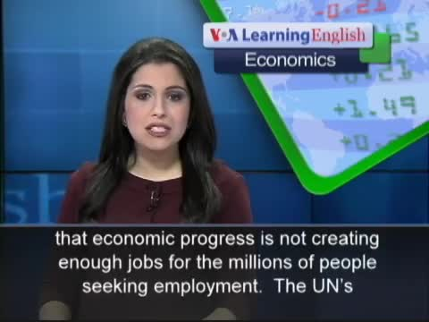 World Economic Recovery Not Creating Enough Jobs
