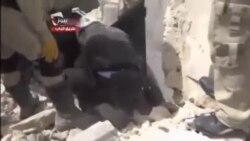 شهر حلب هدف بمب های بشکه ای است