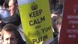 2014-03-11 美國之音視頻新聞: 烏克蘭第二大城市人心惶惶