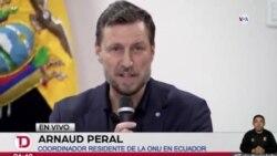 ONU logra acuerdo en diálogos de paz en Ecuador