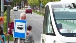 Châu Âu thí điểm xe buýt không người lái