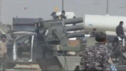بمباران هوایی مواضع داعش در تکریت توسط آمریکا