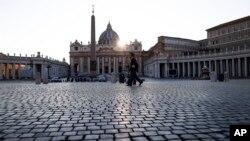 Sheshi i boshatisur i Shën Pjetrit në Vatikan