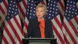 """Klinton: """"Tramp prezidentliyə yararsızdır"""""""