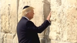 President Trump Visits Western Wall in Jerusalem
