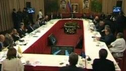 Cuestionan proceso de diálogo en Venezuela