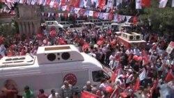 رأی گیری برای انتخاب نمایندگان پارلمان ترکیه