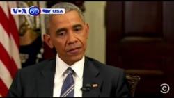 Ông Obama lo ngại cho nền dân chủ Hoa Kỳ (VOA60)
