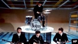 1964년 뉴욕에서 공연 중인 비틀즈 (자료사진)