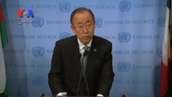 درخواست دبیر کل سازمان ملل برای توقف کشتار آوارگان فلسطینی در یرموک