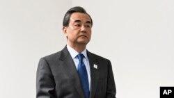 Çinin xarici işlər naziri Von Yi