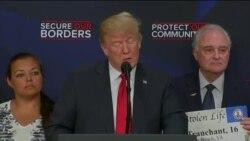 چرا پرزیدنت ترامپ با خانواده قربانیان مجرمان مهاجر غیرقانونی دیدار کرد