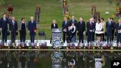 Открытие церемонии, посвященной 20-летию со дня теракта в городе Оклахома-Сити