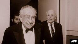 Андрей Сахаров с лауреатом Нобелевской премии по физике Эдвардом Теллером, 1988г.