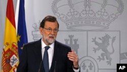 စပိန္၀န္ႀကီးခ်ဳပ္ Mariano Rajoy