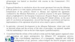 Deklaratë e përbashkët Shqipëri - BE