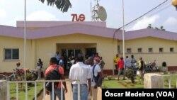 Profissionais da Televisão São-tomense em greve