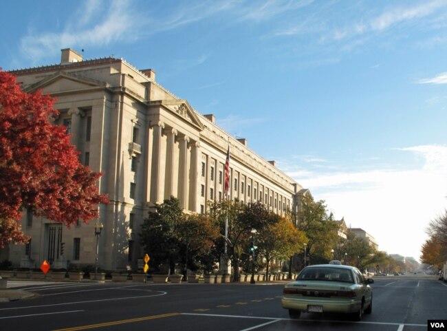 美国司法部大楼(资料照)