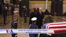 Nước Mỹ tiễn biệt cố Tổng thống George H.W. Bush